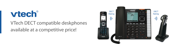 VTech DECT compatible deskphones available at a competitive price!