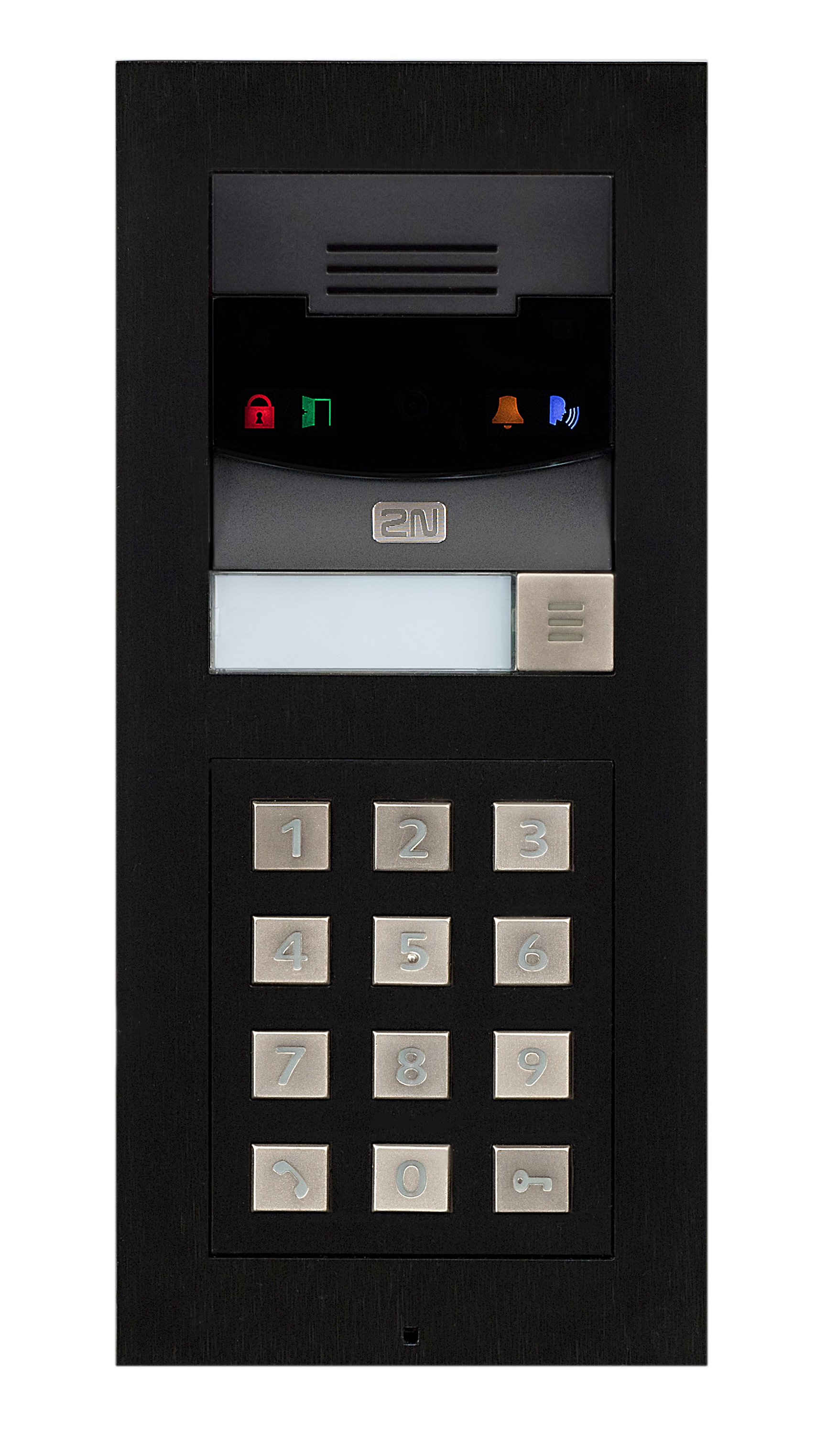 Black Keypad on Ip Pbx Phone System