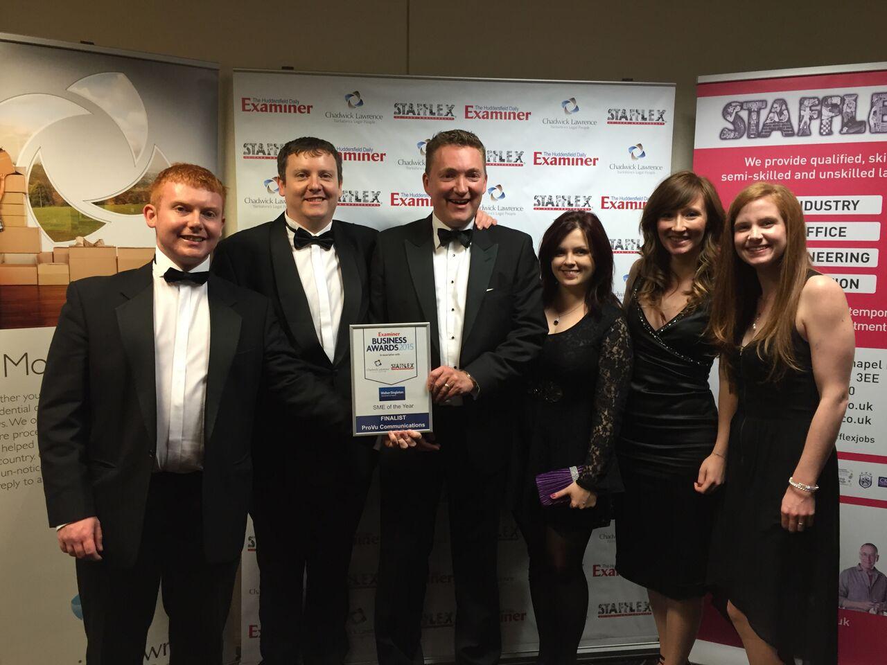 ProVu Team - Examiner Business Awards 2015