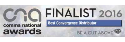 Comms National Awards 2016. Best convergence Distributor - FINALIST