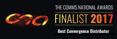 Comms National Awards - Best Convergence Distributor - Finalist 2017