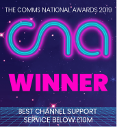 Comms National Awards Winner 2019
