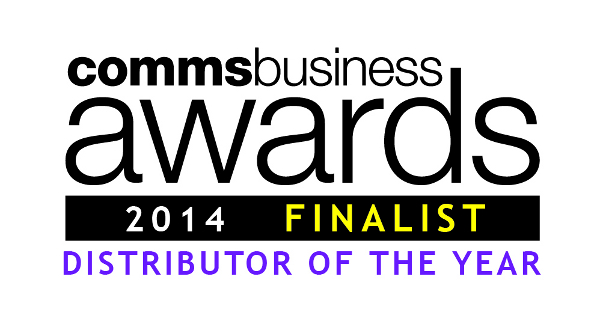 Comms Business Awards 2014 Finalist - Distributor of the Year