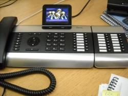 Becky's desk phone