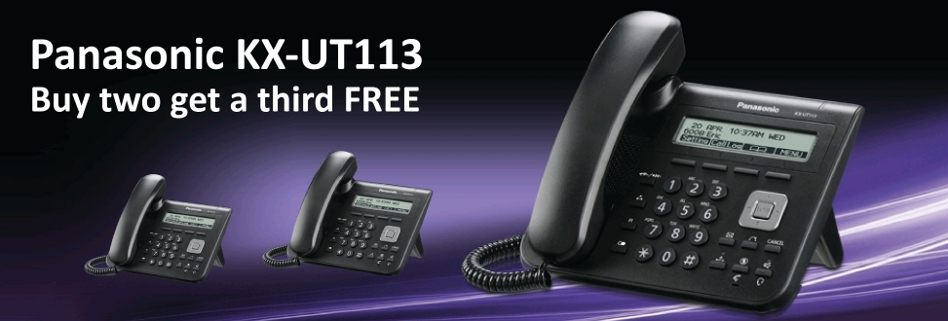 panasonic offer buy two get a third free