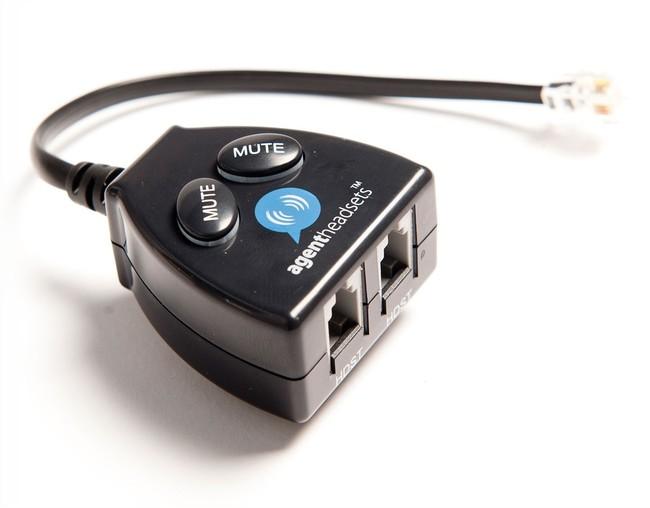 Agent Buddy Training Switch Adapter For Rj9 Rj10 Rj22