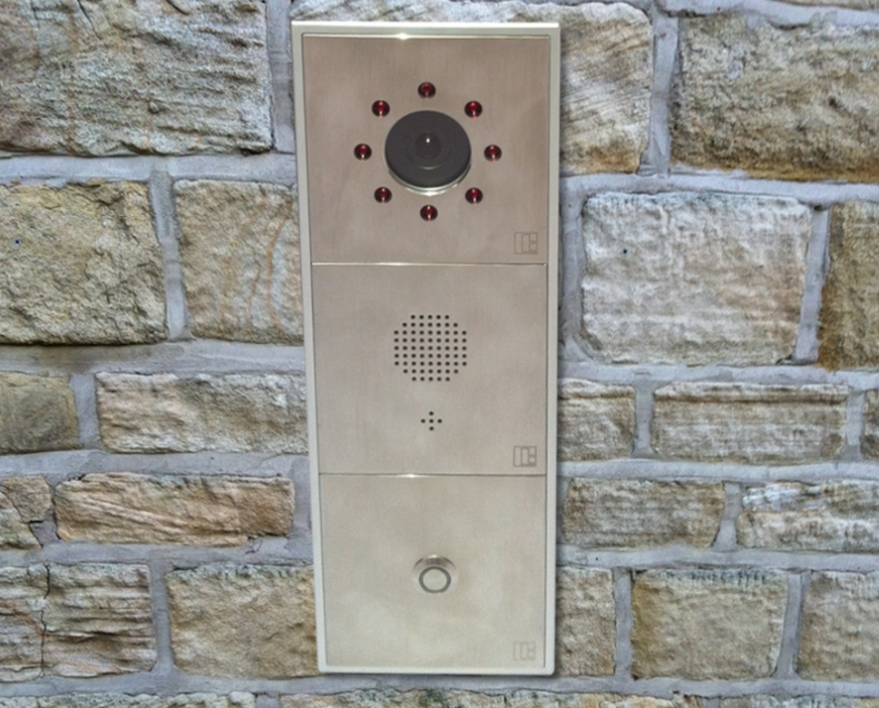 Baudisch Sip Modular Door Entry Systems Ip65 Sole