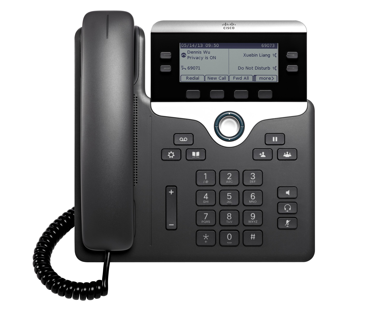 cisco 7841 mulitplatform sip phone