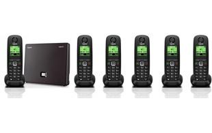 N300IP and A540H handset bundle Six handsets
