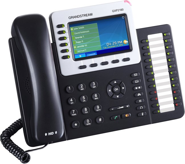 Grandstream Gxp2160 Small Business Ip Phone Provu