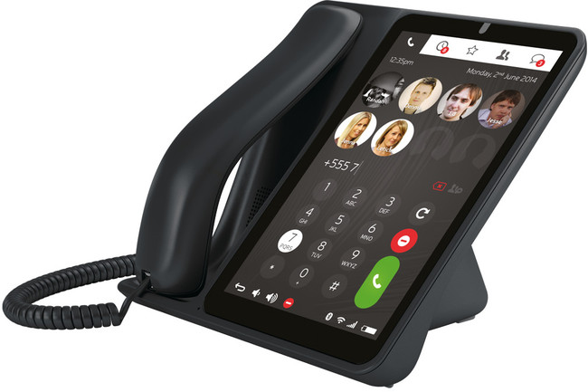 jablocom raven gsm touch screen desktop smartphone provu communications. Black Bedroom Furniture Sets. Home Design Ideas