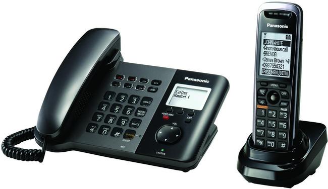 Panasonic Kx Tgp550 Desk Phone With Integrated Dect Base