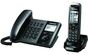 Panasonic Kx Tgp550 Desk Phone With Integrated Dect Base