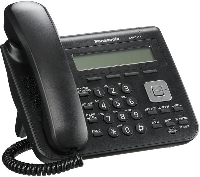 Panasonic Kx Ut113 Sip Standard Desk Phone Available In