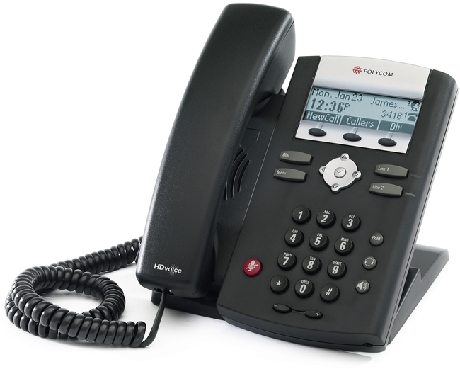 Desk Phone With Headset Port