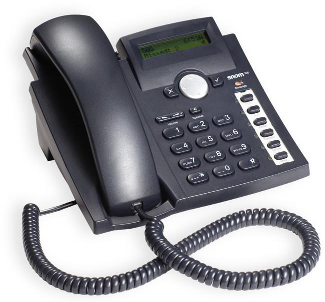 Snom 300 Entry Level Ip Phone Provu Communications