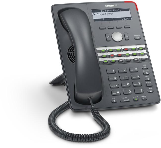 Snom 720 ip phone provu communications for Telefono oficinas