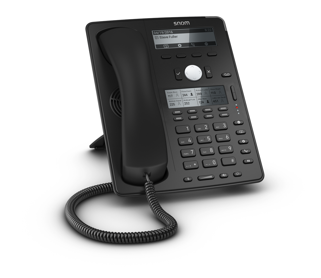 Snom D745 Ip Desk Phone Provu Communications