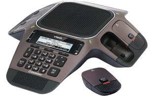 VTech VCS754A SIP Conference Phone with Four Wireless Mics