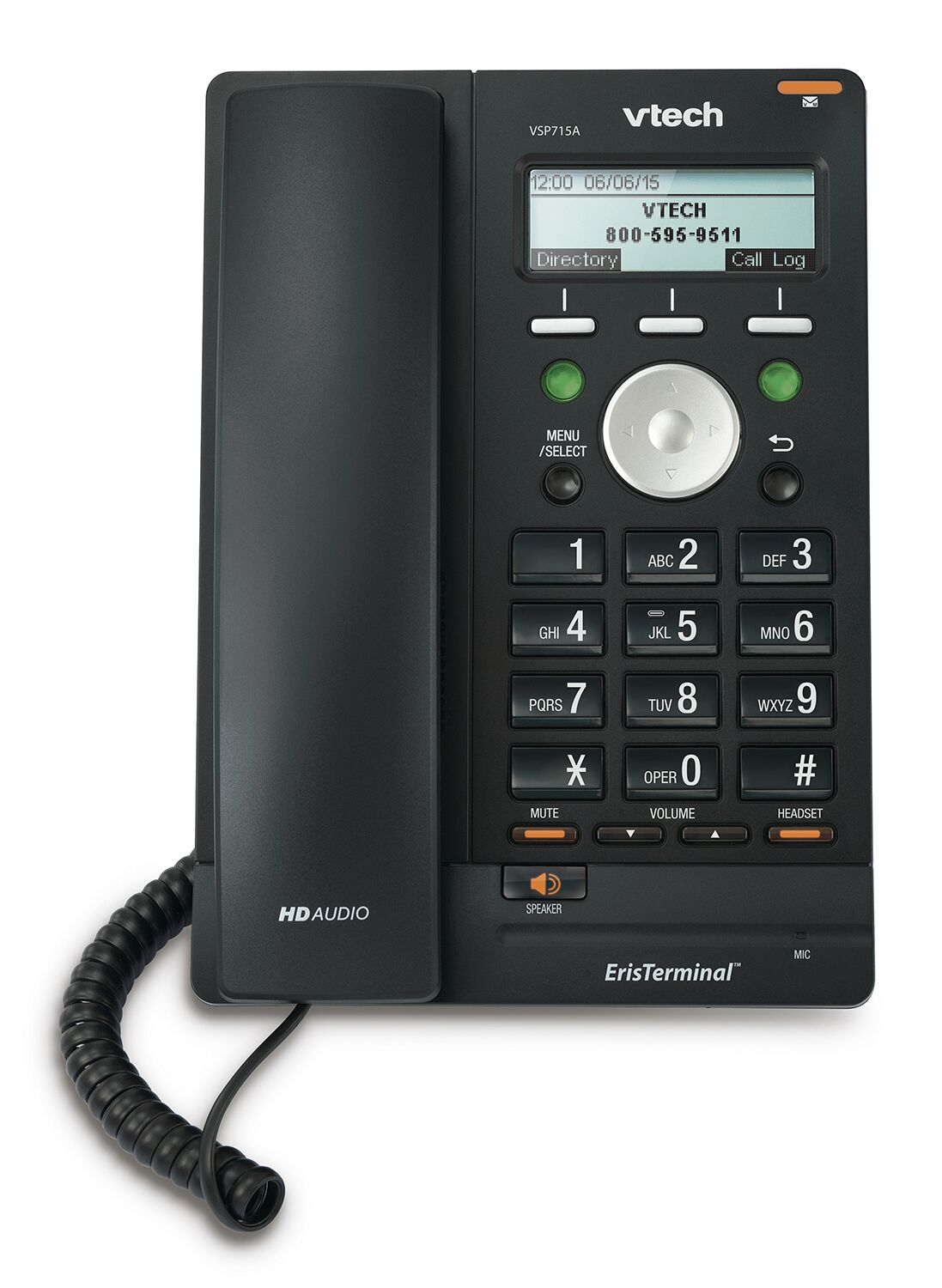 Vtech Vsp715a Sip Deskphone Provu Communications