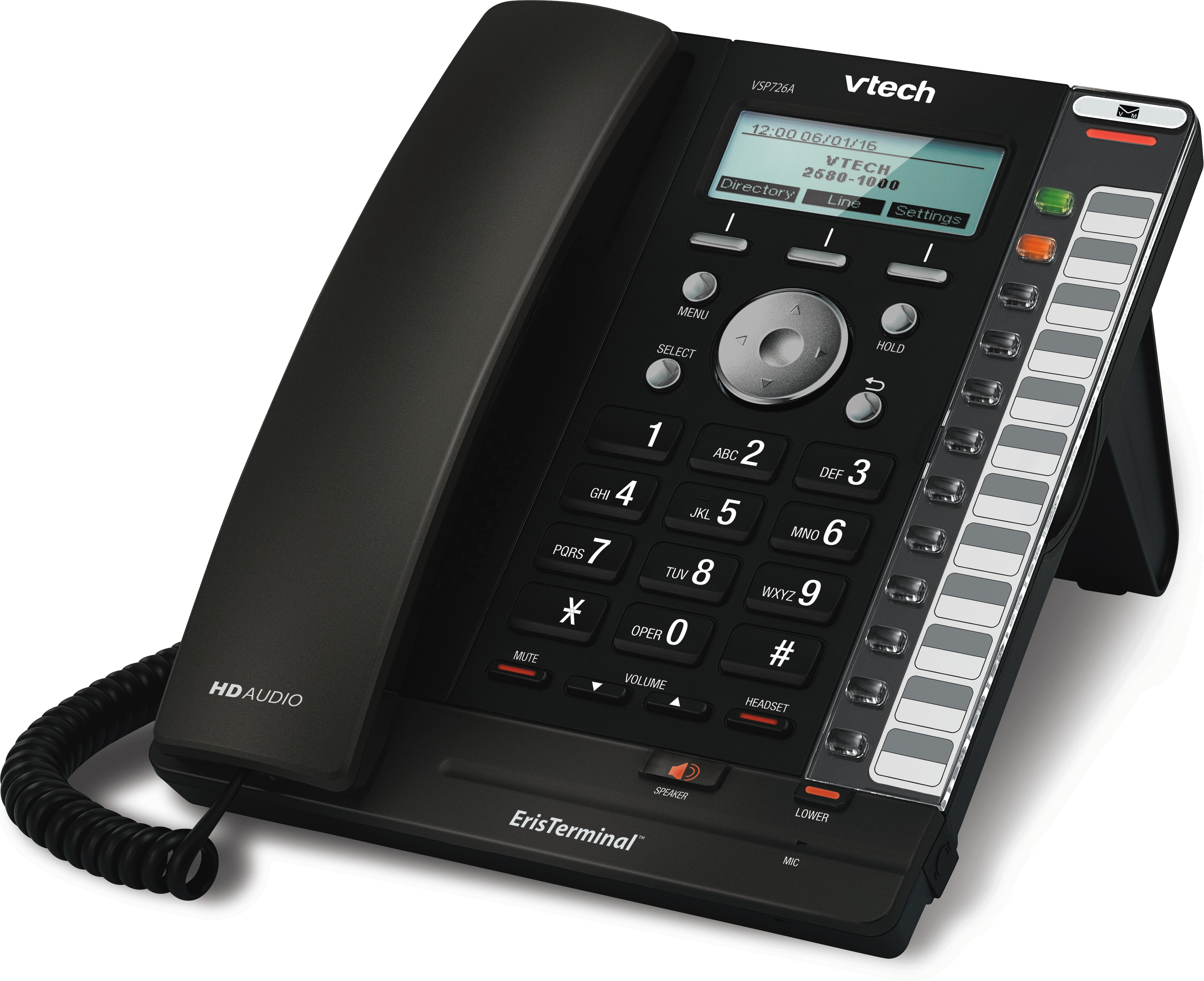 Vtech Vsp726a Sip Deskphone Provu Communications