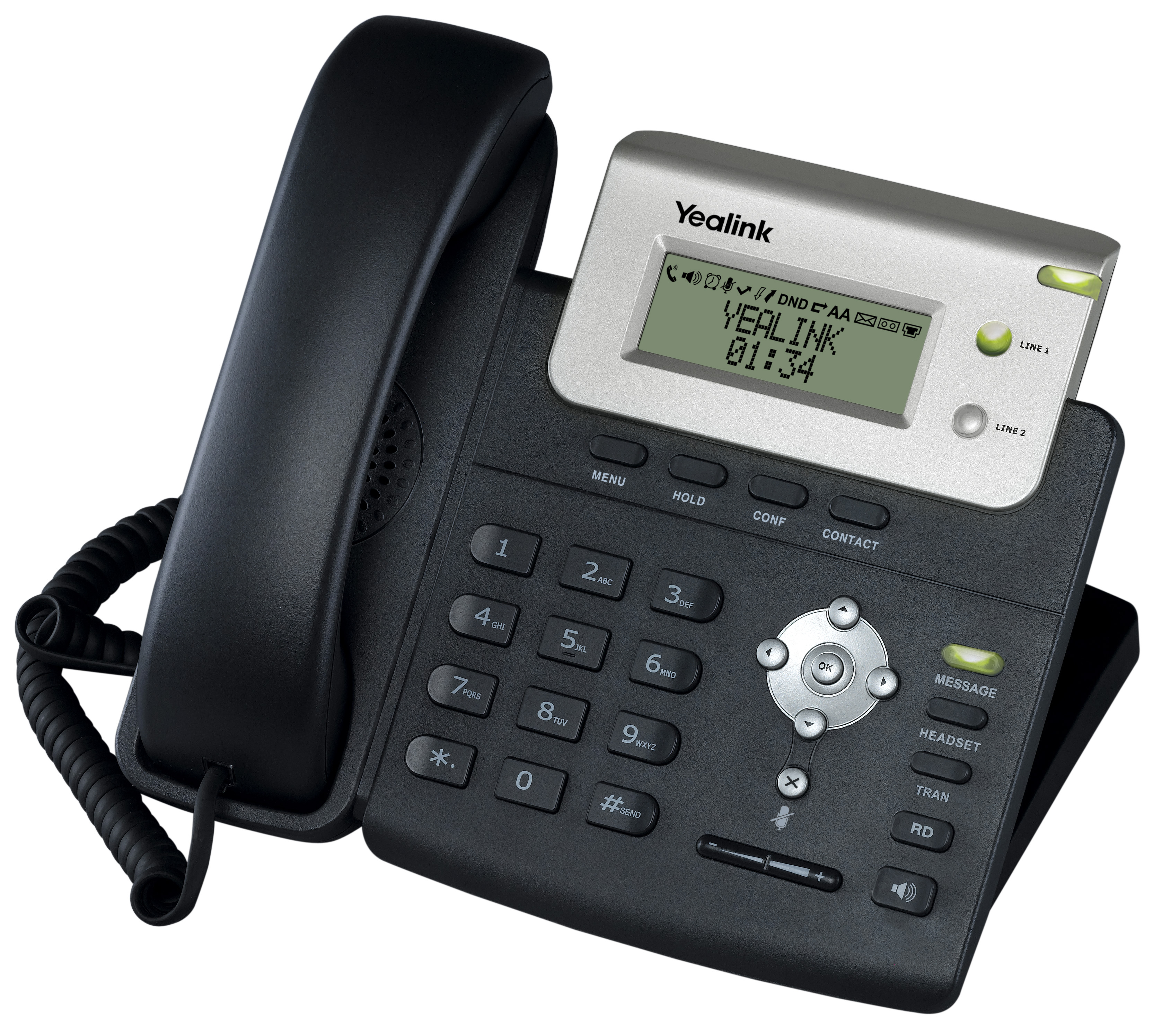Yealink T20pn Entry Level Ip Phone Provu Communications