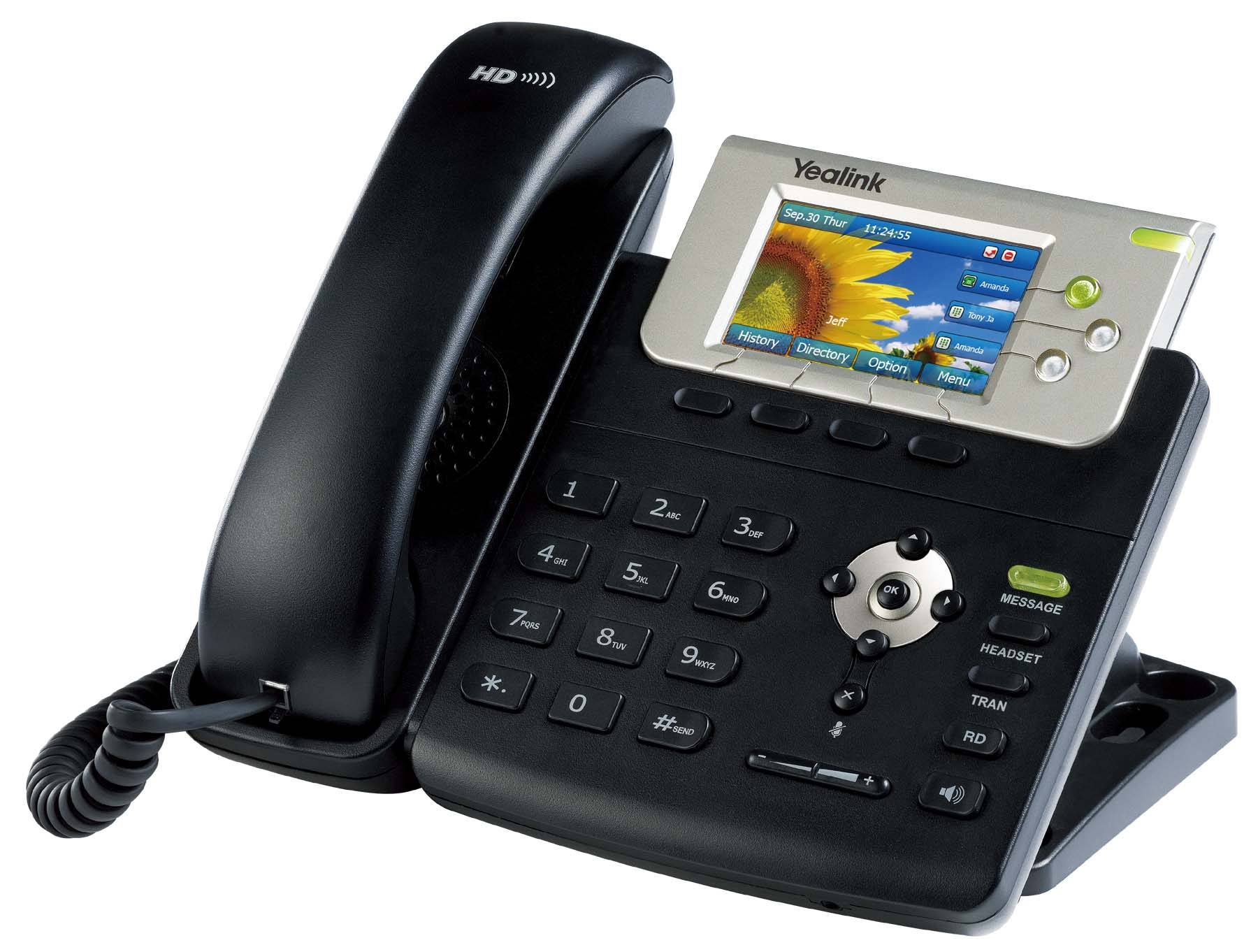 Yealink T32gn Colour Screen Ip Phone With Gig Ethernet