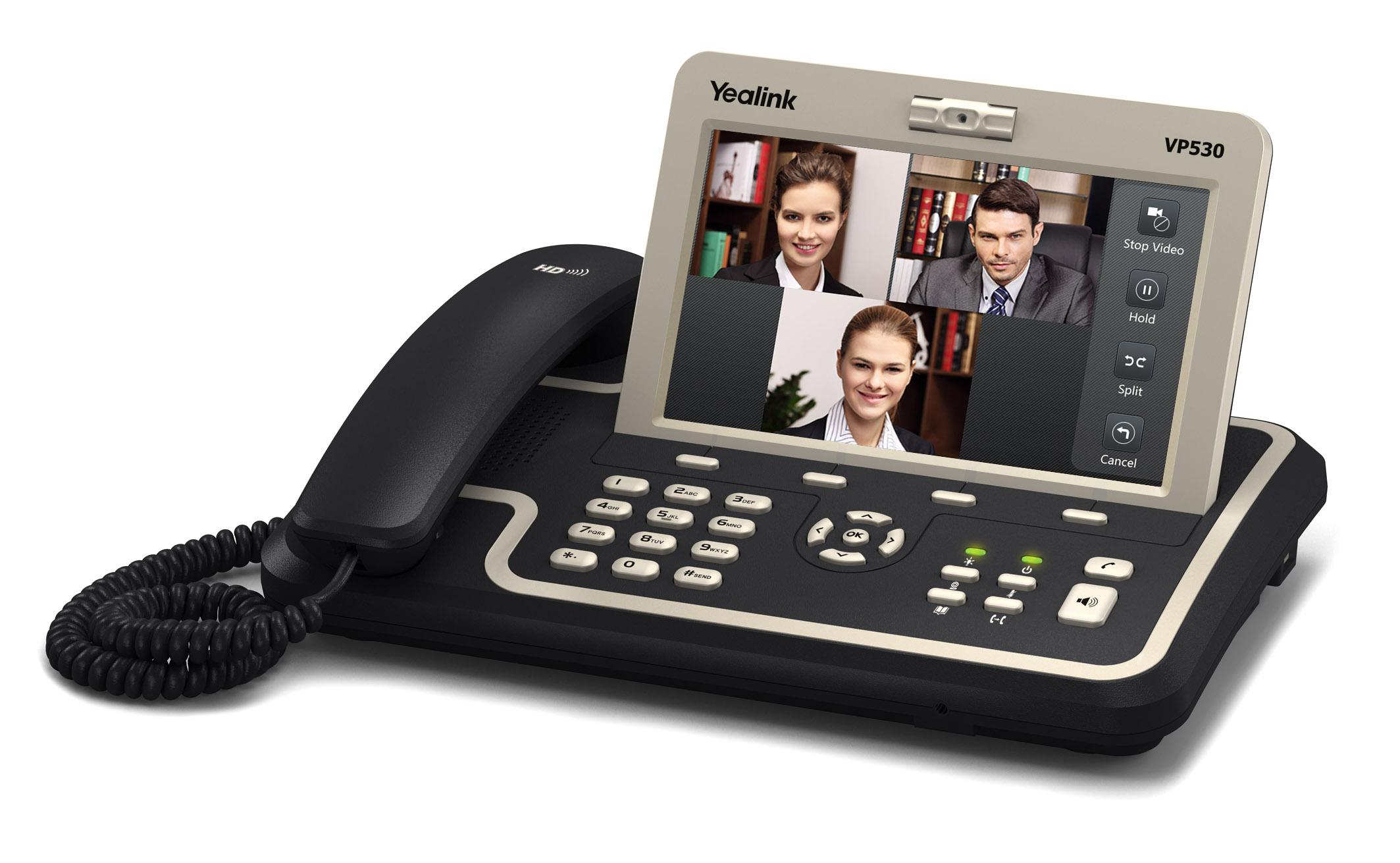 Yealink Vp530n Ip Video Phone Provu Communications
