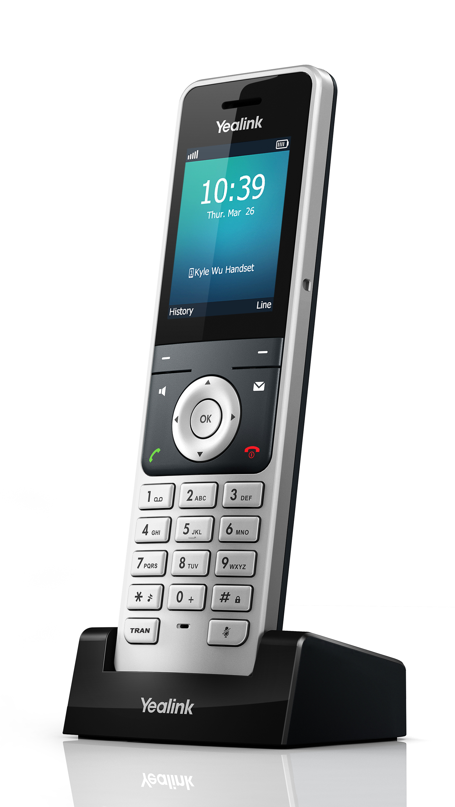 yealink w56h base station and dect colour screen handset
